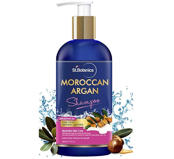 StBotanica Moroccan Argan Hair Shampoo With Organic Argan Oil