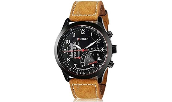 Talgo Analog Black Dial Men's & Boys Watch