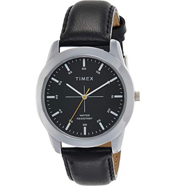 Timex Analog Black Dial Men's Watch