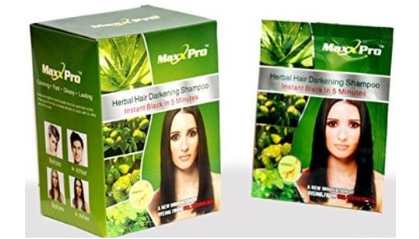 Veda Herbals Maxx Pro Herbal Hair Darkening Shampoo