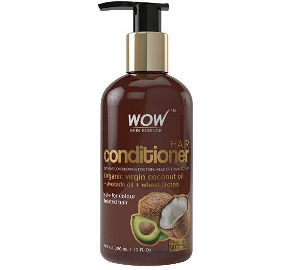 WOW Hair Conditioner with Organic Virgin Coconut Oil and Avocado Oil