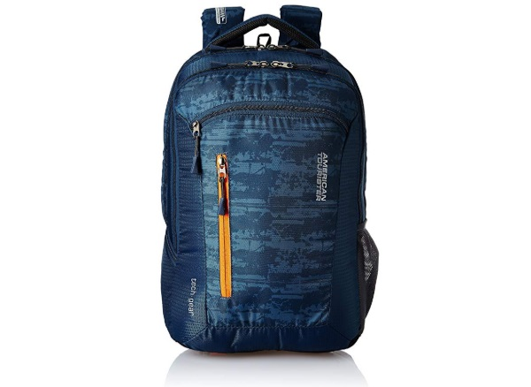 American Tourister Polyester 28 Ltrs Blue Laptop Backpack