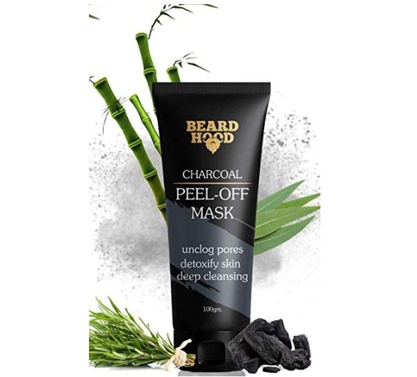 Beardhood Charcoal Peel Off Mask
