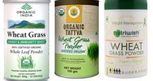 Best wheatgrass powders in India