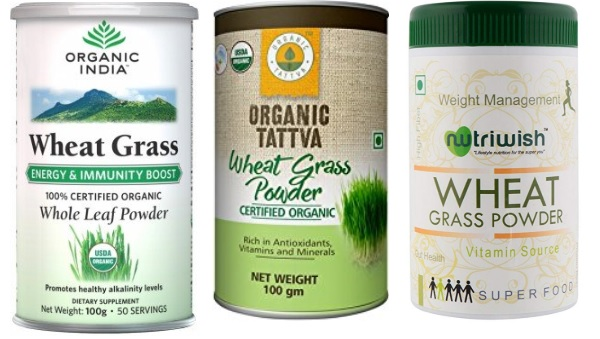 Best wheatgrass powders in India