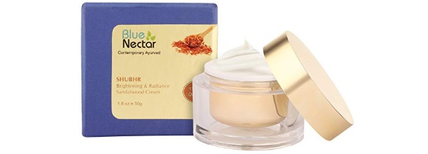 Blue Nectar Ayurvedic Brightening Cream And Lightening Cream - Sandalwood