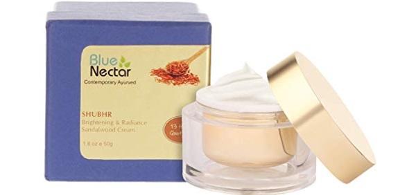 Blue Nectar Ayurvedic Brightening and Lightening Cream