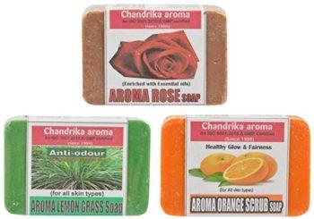 Chandrika Natural Handmade Aroma Therapy Soaps
