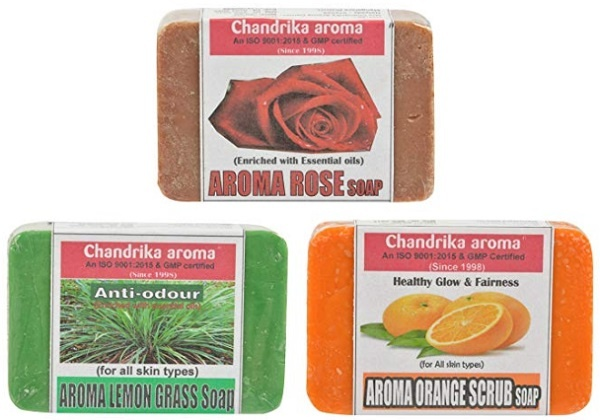Chandrika Natural Handmade Aroma Therapy Soaps