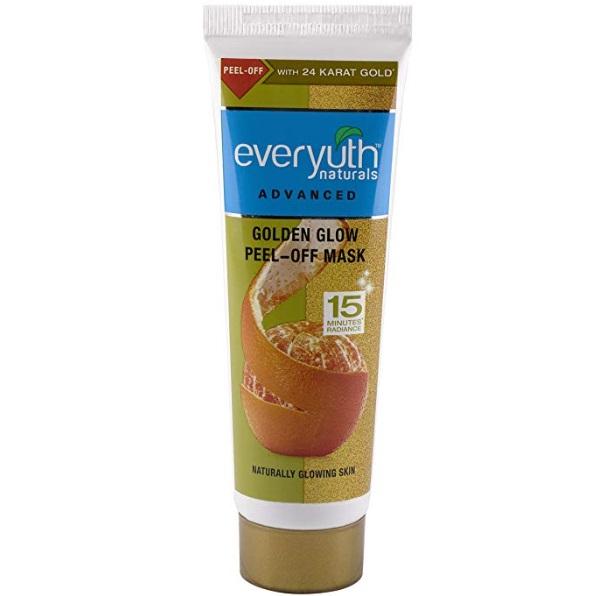 Everyuth Naturals Golden Glow Peel-Off mask