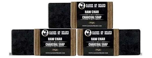 Gangs of Beard Raw Char Charcoal Soap
