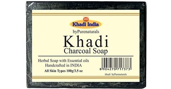 Khadi Charcoal Soap