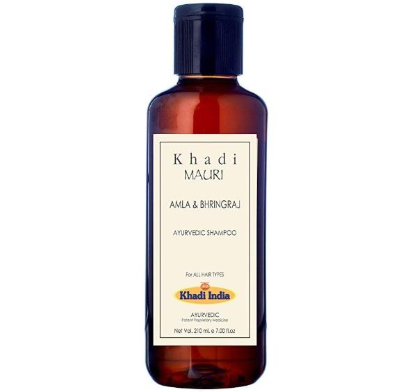 Khadi Mauri Herbals Amla and Bhringraj Herbal Shampoo