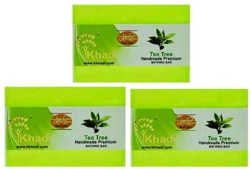 Khadi Tea Tree Handmade Premium Bathing Bar