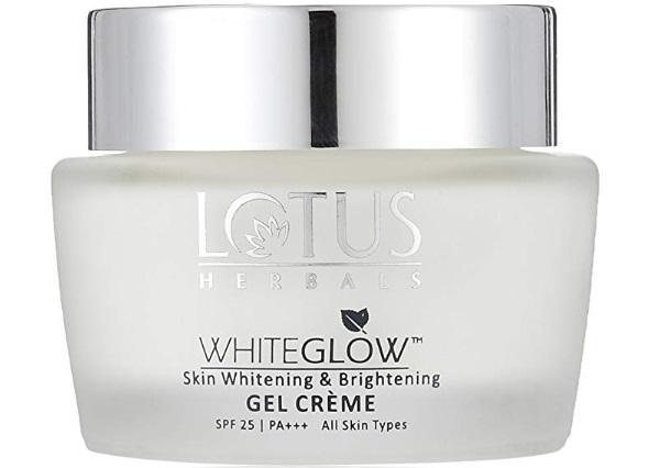 Lotus Herbals Whiteglow Skin Whitening and Brightening Gel Cream SPF-25