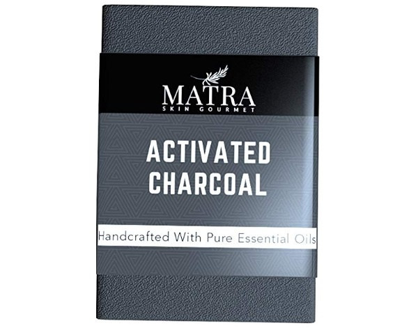 Matra Naturals Activated Charcoal Bathing Soap