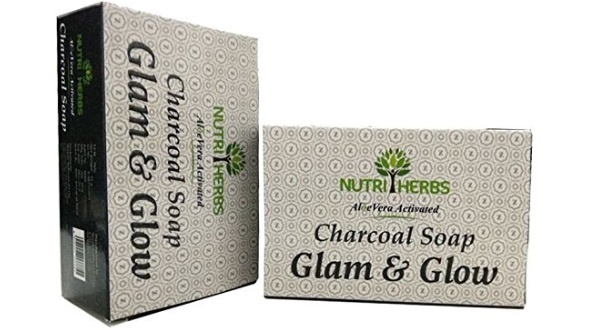 Nutriherbs Activated Charcoal Soap