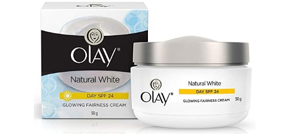 Olay Natural White 7 in 1 Glowing Fairness Day Skin Cream SPF 24