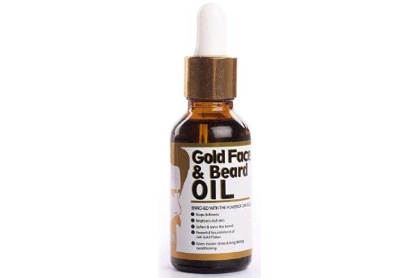 Qraa 24K Gold Face and Beard Oil