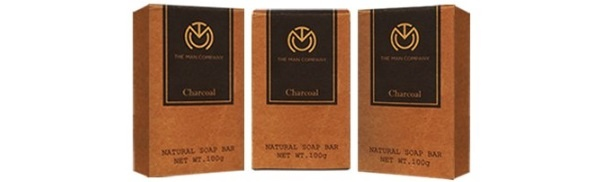 The Man Company Charcoal Soap
