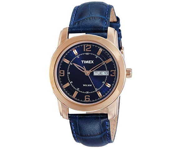 Timex Analog Blue Dial Men's Watch