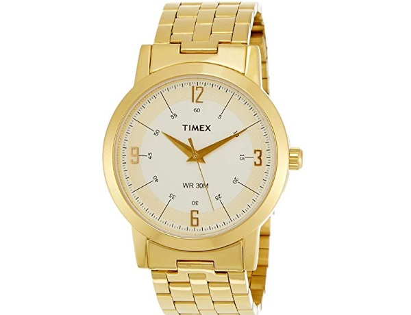 Timex Classics Analog White Dial Men's Watch