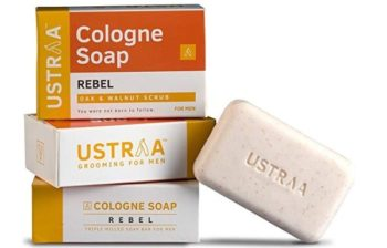 Ustraa Rebel Cologne Soap with Oak and Walnut