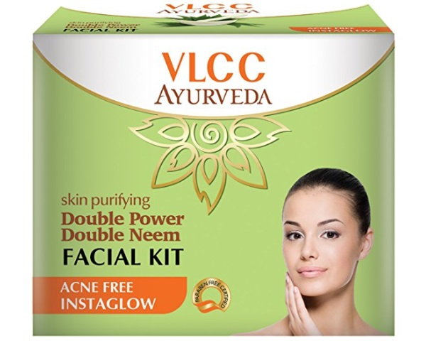 VLCC Ayurveda Skin Purifying Double Power Double Neem Facial Kit