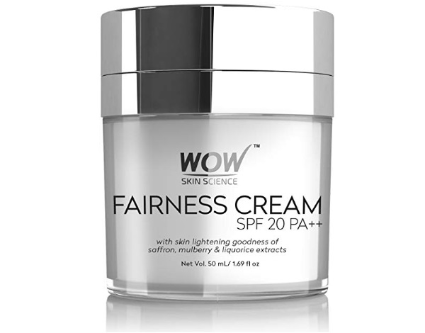 WOW Fairness SPF 20 PA++ No Parabens and Mineral Oil Cream