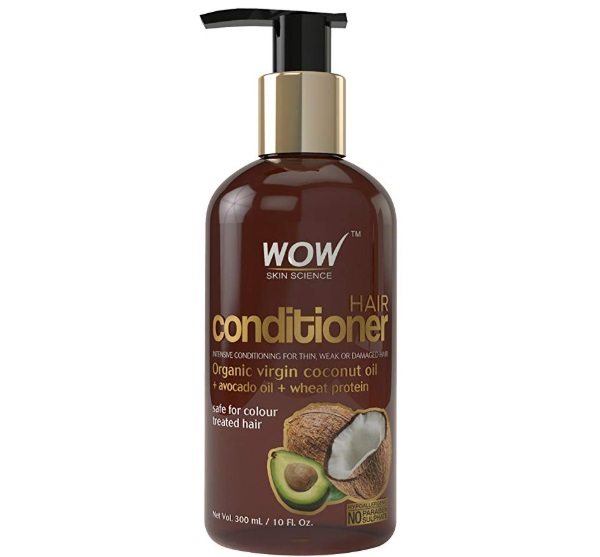 WOW Organic Virgin Coconut Oil and Avocado Oil Hair Conditioner