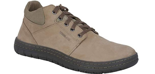 Woodland Men's Simple Sneakers