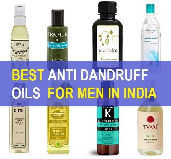 9 Best Men's Anti Dandruff Hair Oils in India