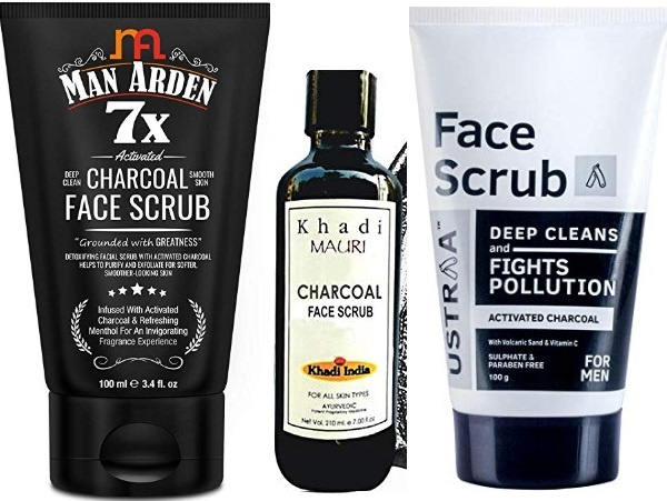 Best Activated Charcoal Face Scrubs in India