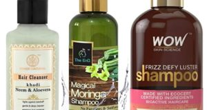 Best Paraben and Sulphate Free Shampoos in India