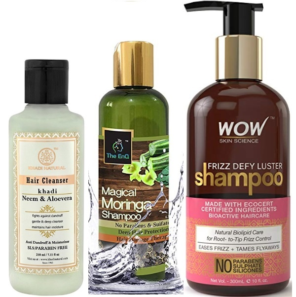 best sulphate and paraben free shampoo in india