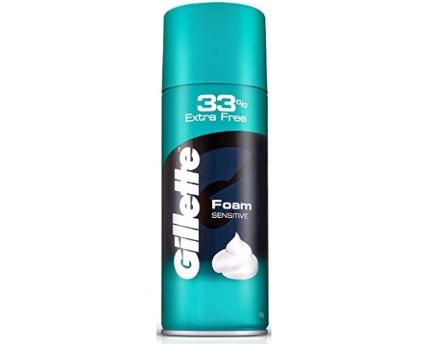 Gillette Classic Sensitive Skin Pre Shave Foam
