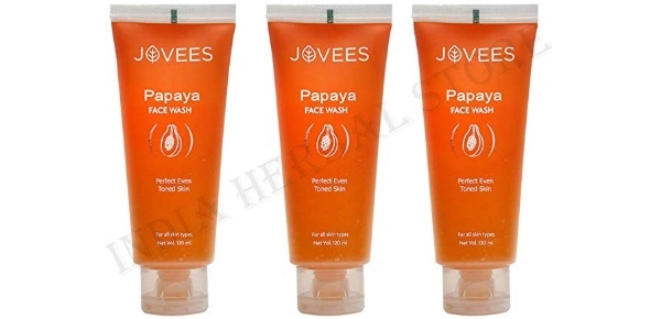 Jovees Herbal Papaya Face Wash for Blemishes and Pigmentation