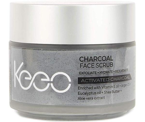 Keeo Charcoal Face Scrub