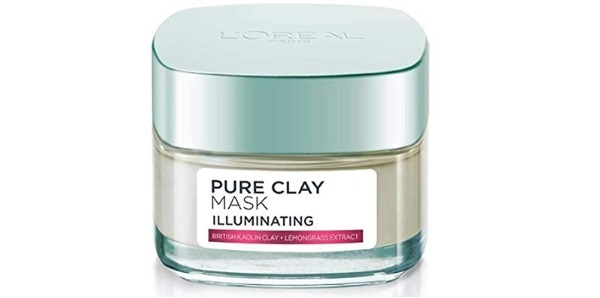 L'Oreal Paris Pure Clay Clay Mask, Detoxify with Charcoal