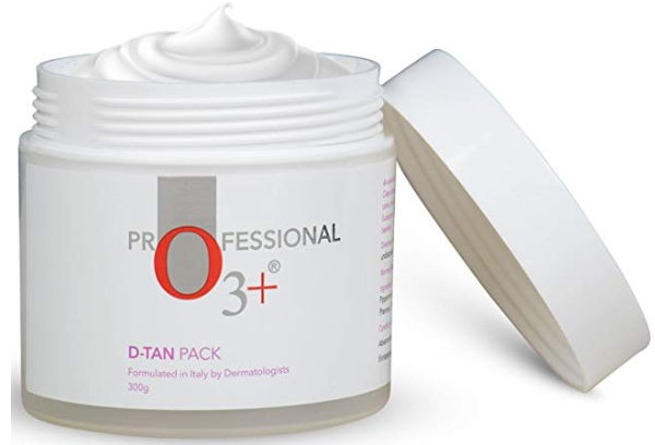 O3+ D-Tan Pack Brightening and Lightening De Tan Removal Mask