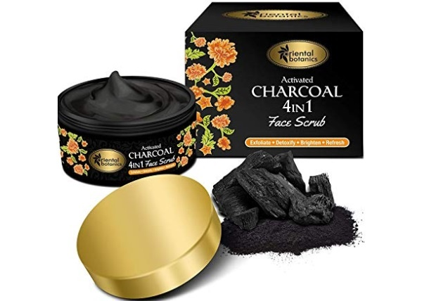 Oriental Botanics Activated Charcoal 4 IN 1 Face Scrub