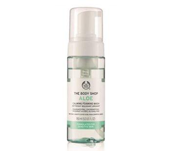 The Body Shop Aloe Calming Foaming Facial Wash