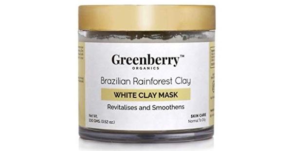 Greenberry Organics Brazilian Rainforest White Clay Mask