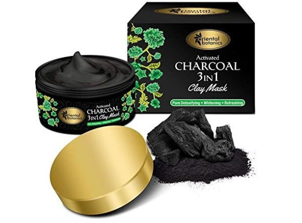 Oriental Botanics Activated Charcoal 3 IN 1 Clay Mask