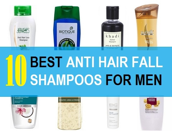 best anti hair fall shampoos for men in India