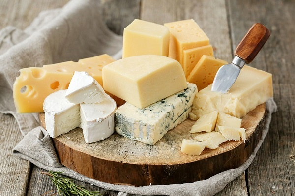 cheese calcium rich food