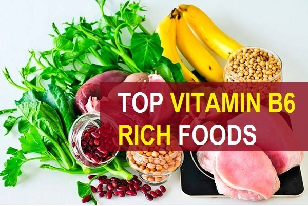 top vitamin b6 rich foods in india