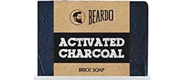 Beardo Activated Charcoal Brick Soap