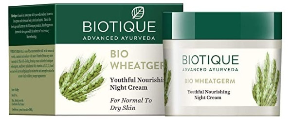Biotique Bio Wheat Germ Firming Night Cream For Normal To Dry Skin