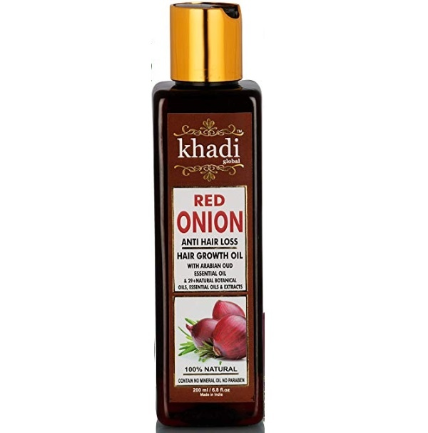 Khadi Global Red Onion Hair Growth Oil